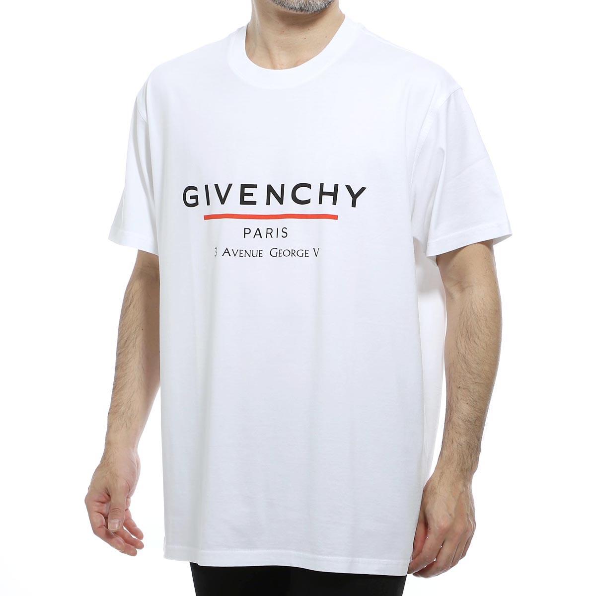 ジバンシー GIVENCHY クルーネックTシャツ ホワイト メンズ bm70u23002 100【あす楽対応_関東】【返品送料無料】【ラッピング無料】