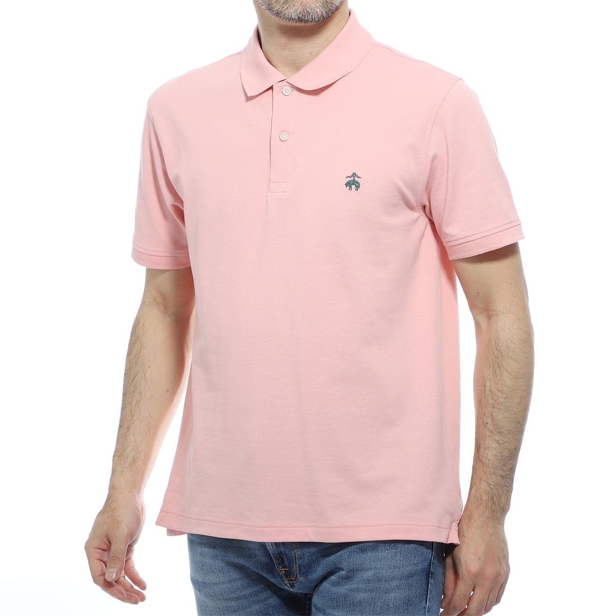 ブルックスブラザーズ Brooks Brothers ポロシャツ ピンク メンズ 100134540 GF SUPIMA COTTON PIQUE PAFORMANCE POLO SHIRTS【あす楽対応_関東】【返品送料無料】【ラッピング無料】