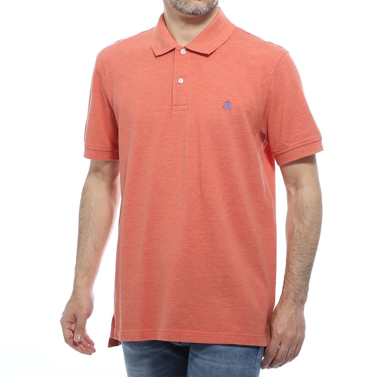 ブルックスブラザーズ Brooks Brothers ポロシャツ オレンジ メンズ 100137080 GF SUPIMA COTTON PIQUE PAFORMANCE POLO SHIRTS【あす楽対応_関東】【返品送料無料】【ラッピング無料】