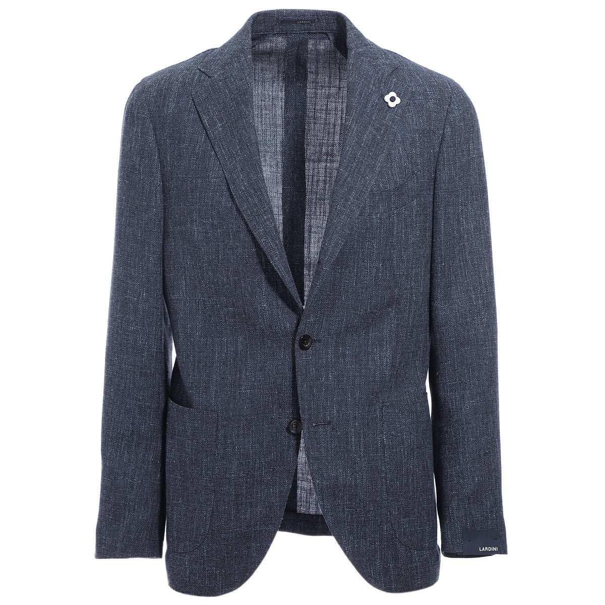 ラルディーニ LARDINI 3つボタン ジャケット ブルー メンズ テーラード ジャケット カジュアル 大きいサイズあり ei0526av rp54591 1 SPECIAL LINE JAPAN FIT【あす楽対応_関東】【返品送料無料】【ラッピング無料】