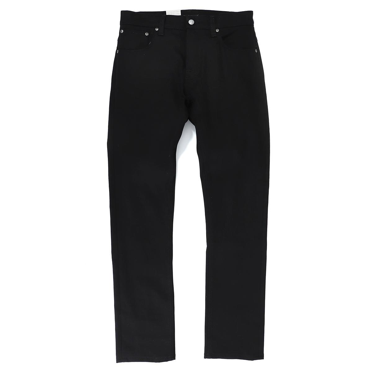 ヌーディージーンズ nudie jeans co ボタンフライジーンズ ブラック メンズ 大きいサイズあり grim tim 113033 GRIM TIM グリムティム レングス32【あす楽対応_関東】【返品送料無料】【ラッピング無料】