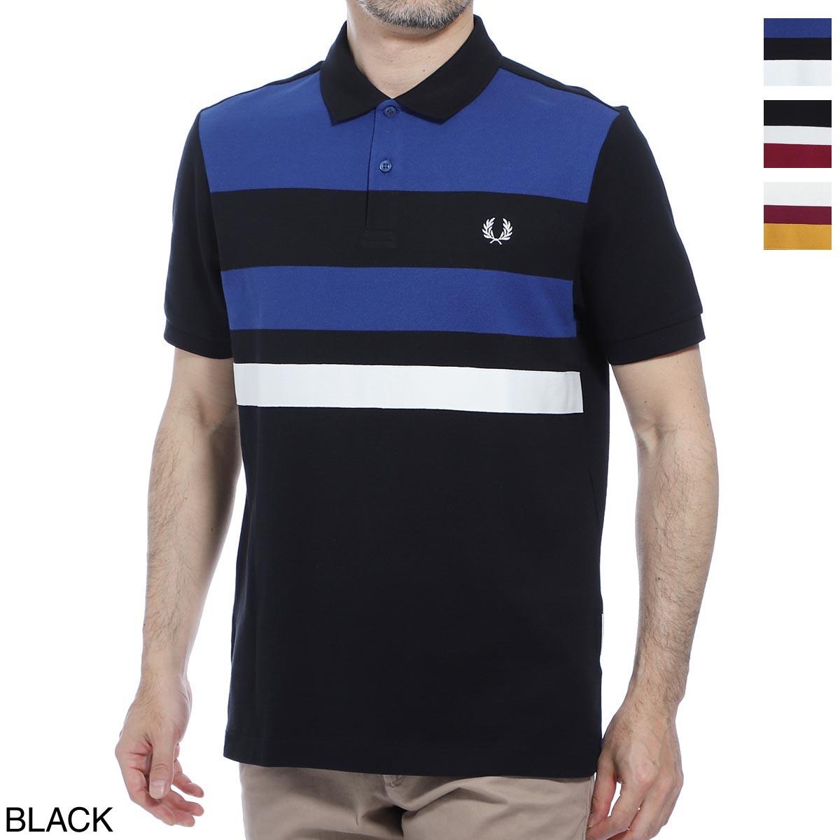 フレッドペリー FRED PERRY ポロシャツ メンズ m8540 102 TAPE DETAIL POLO SHIRT【あす楽対応_関東】【返品送料無料】【ラッピング無料】