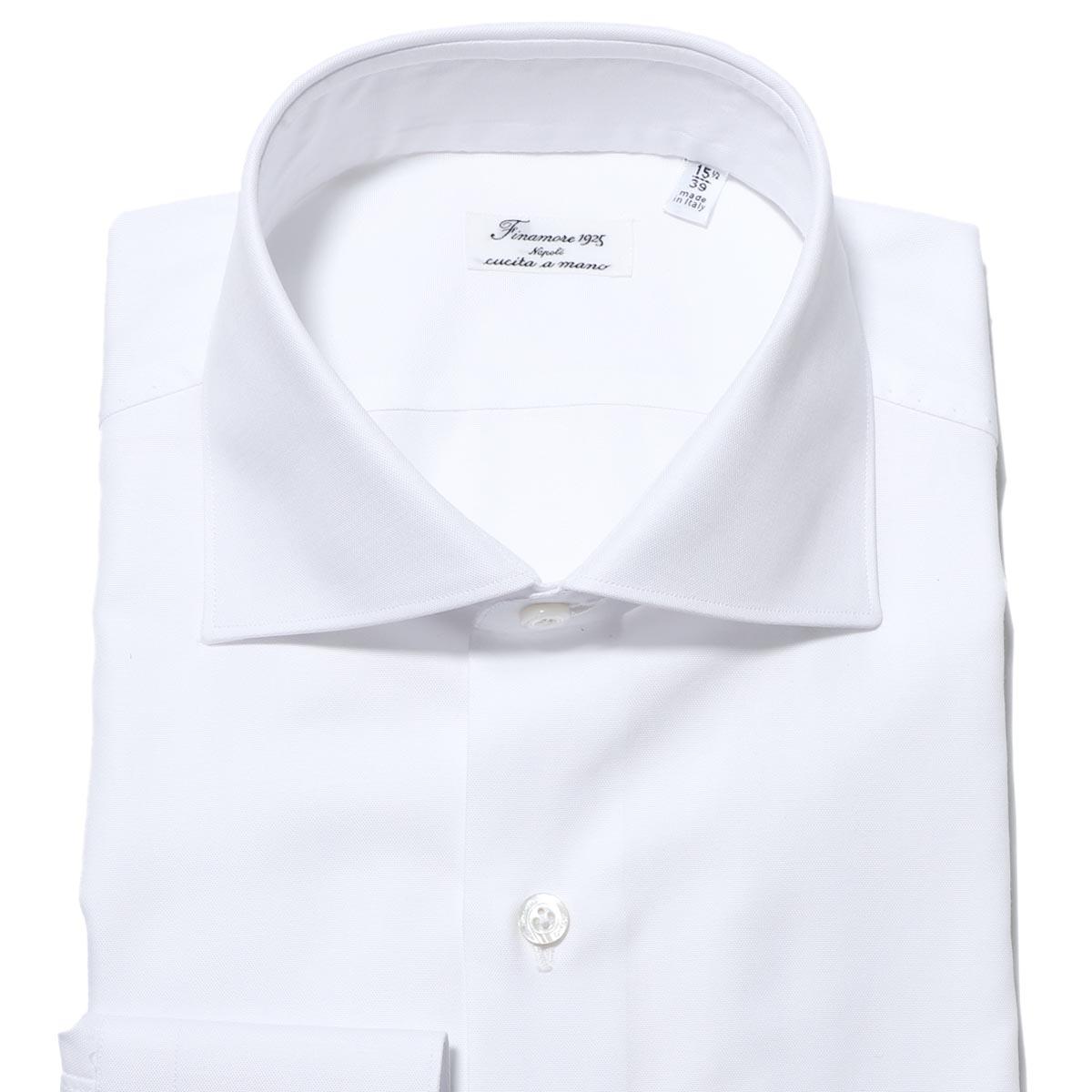 フィナモレ FINAMORE ワイドカラーシャツ ホワイト メンズ zante z 012795 p2092 01 ZANTE ザンテ【あす楽対応_関東】【返品送料無料】【ラッピング無料】