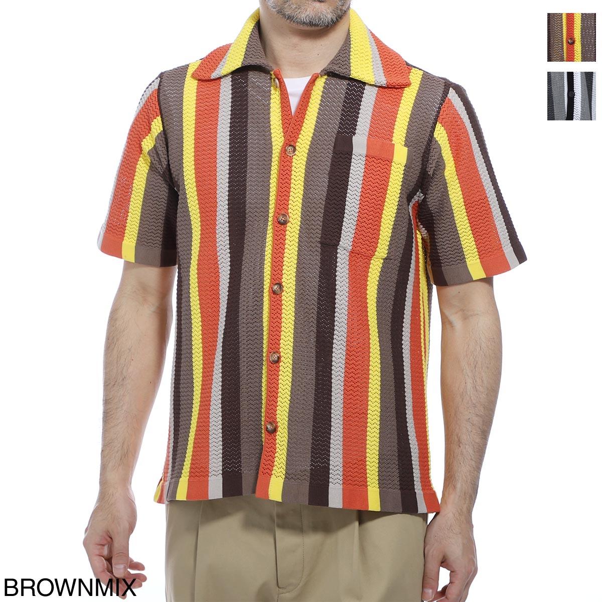 バフィ BAFY 半袖ニットシャツ メンズ 132 1692 32021 SHIRTS SS【あす楽対応_関東】【返品送料無料】【ラッピング無料】