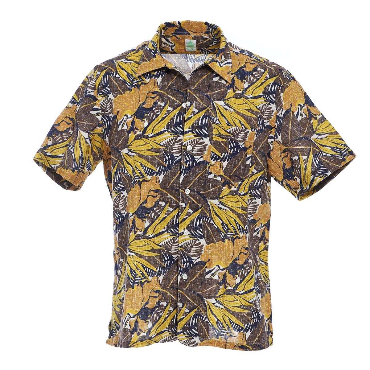 フィナモレ FINAMORE オープンカラーシャツ イエロー メンズ bart 940303 p2108 02 BART バルト【あす楽対応_関東】【返品送料無料】【ラッピング無料】