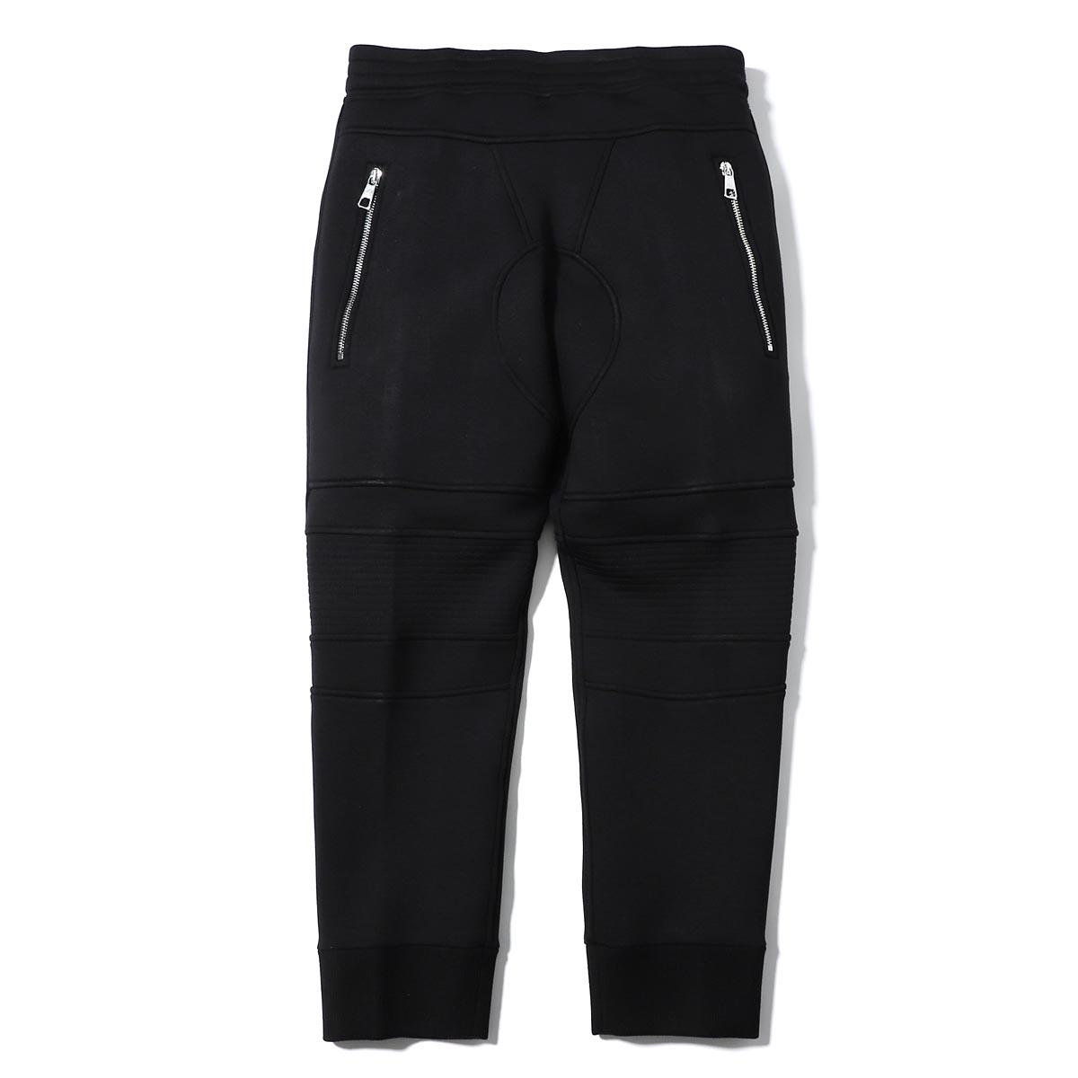 ニールバレット NeIL BarreTT スウェットパンツ ブラック メンズ pbjp197bh n500c 0101 CROPPED TRACK PANTS【あす楽対応_関東】【返品送料無料】【ラッピング無料】