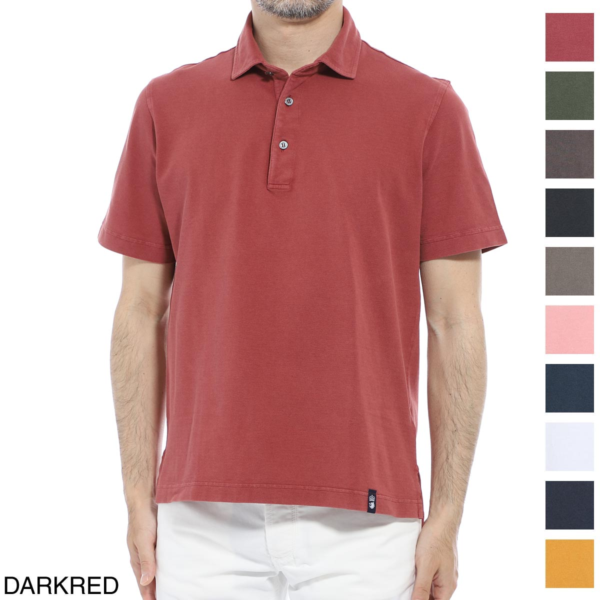 ドルモア DRUMOHR ポロシャツ メンズ dts202 377 ガーメントダイポロシャツ DTS202【あす楽対応_関東】【返品送料無料】【ラッピング無料】