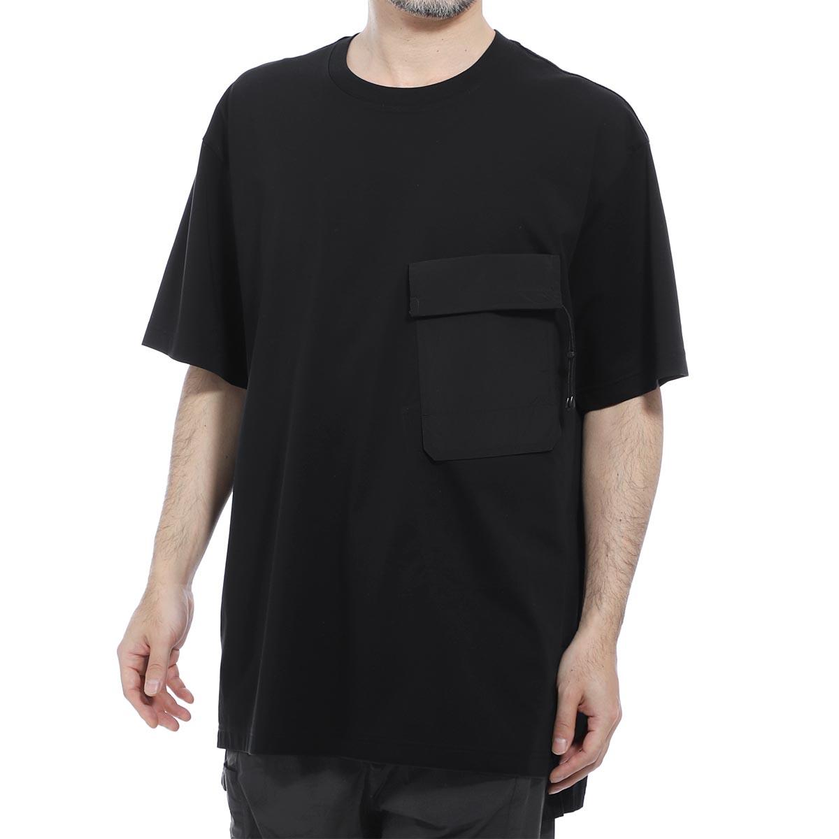 【アウトレット】【ラスト1点】ワイスリー Y-3 クルーネック 半袖Tシャツ ブラック メンズ fn3429 black Y-3 TRAVEL SS TEE【あす楽対応_関東】【返品送料無料】【ラッピング無料】
