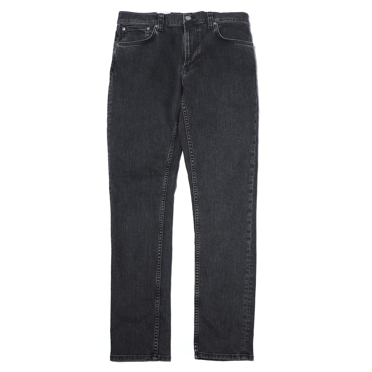 ヌーディージーンズ nudie jeans co ジップフライジーンズ ブラック メンズ ブラックジーンズ lean dean 113277 LEAN DEAN リーンディーン レングス32【あす楽対応_関東】【返品送料無料】【ラッピング無料】