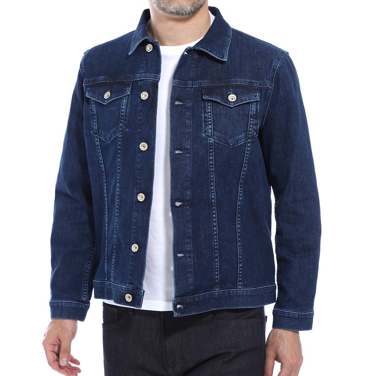 シヴィリア SIVIGLIA デニムジャケット ブルー メンズ 大きいサイズあり o0m2 s417 6001 3rd TYPE【あす楽対応_関東】【返品送料無料】【ラッピング無料】