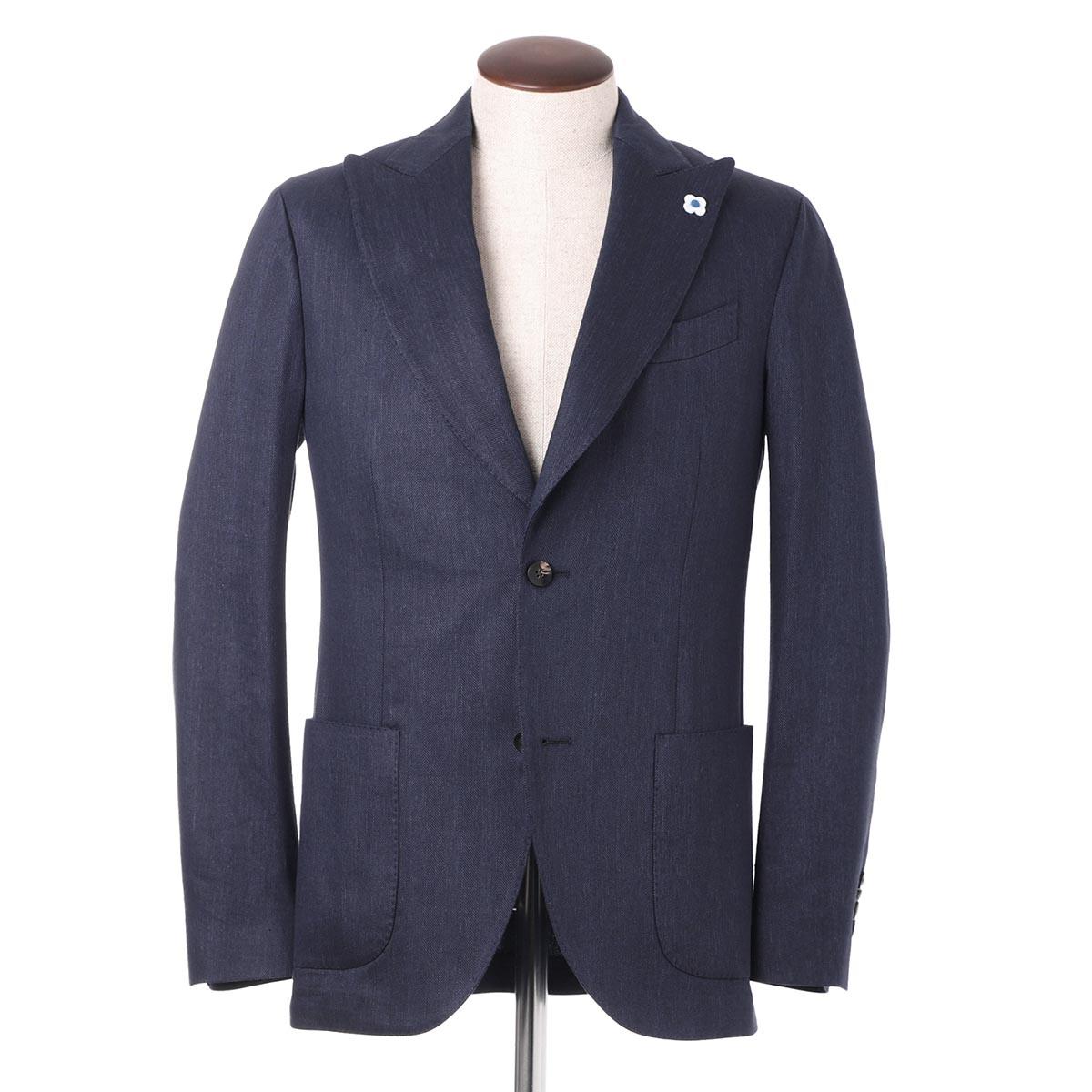 ラルディーニ LARDINI 2つボタンジャケット ブルー メンズ ei665av eirp54589 2【あす楽対応_関東】【返品送料無料】【ラッピング無料】