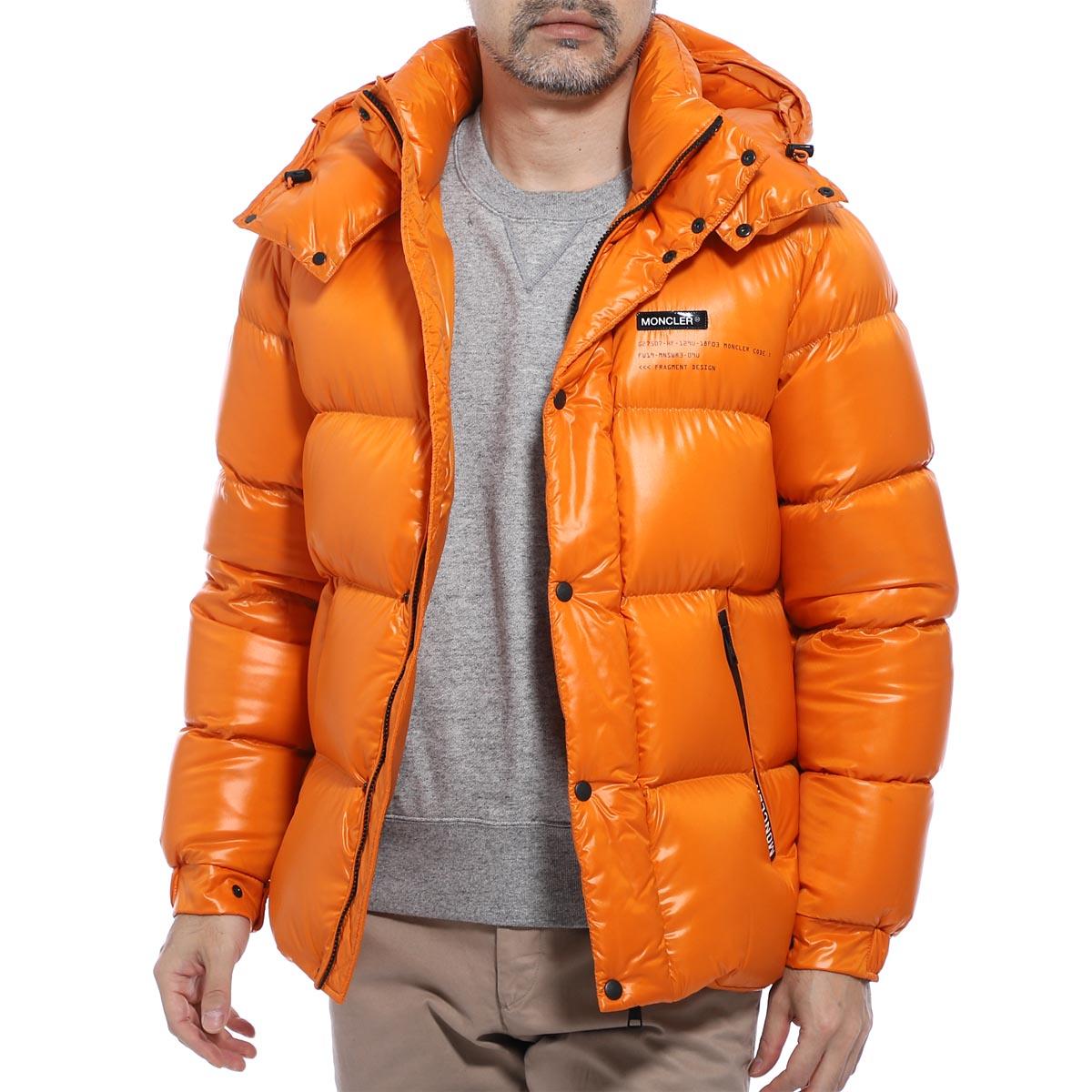 モンクレール MONCLER ダウンジャケット オレンジ メンズ hanriot 4130750 68950 320 MONCLER GENIUS 7 HANRIOT GIUBBOTTO【あす楽対応_関東】【返品送料無料】【ラッピング無料】
