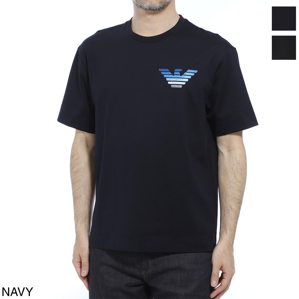 エンポリオアルマーニ EMPORIO ARMANI クルーネックTシャツ メンズ 3h1tn6 1jcqz f988【あす楽対応_関東】【返品送料無料】【ラッピング無料】