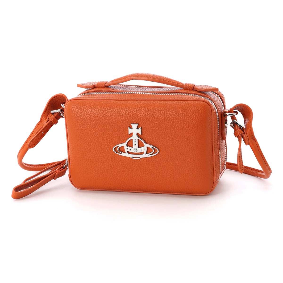 ヴィヴィアンウエストウッド Vivienne Westwood ショルダーバッグ クロスボディバッグ オレンジ レディース 44020074 01229 f402 orange JOHANNA GRAIN CAMERA【あす楽対応_関東】【返品送料無料】【ラッピング無料】