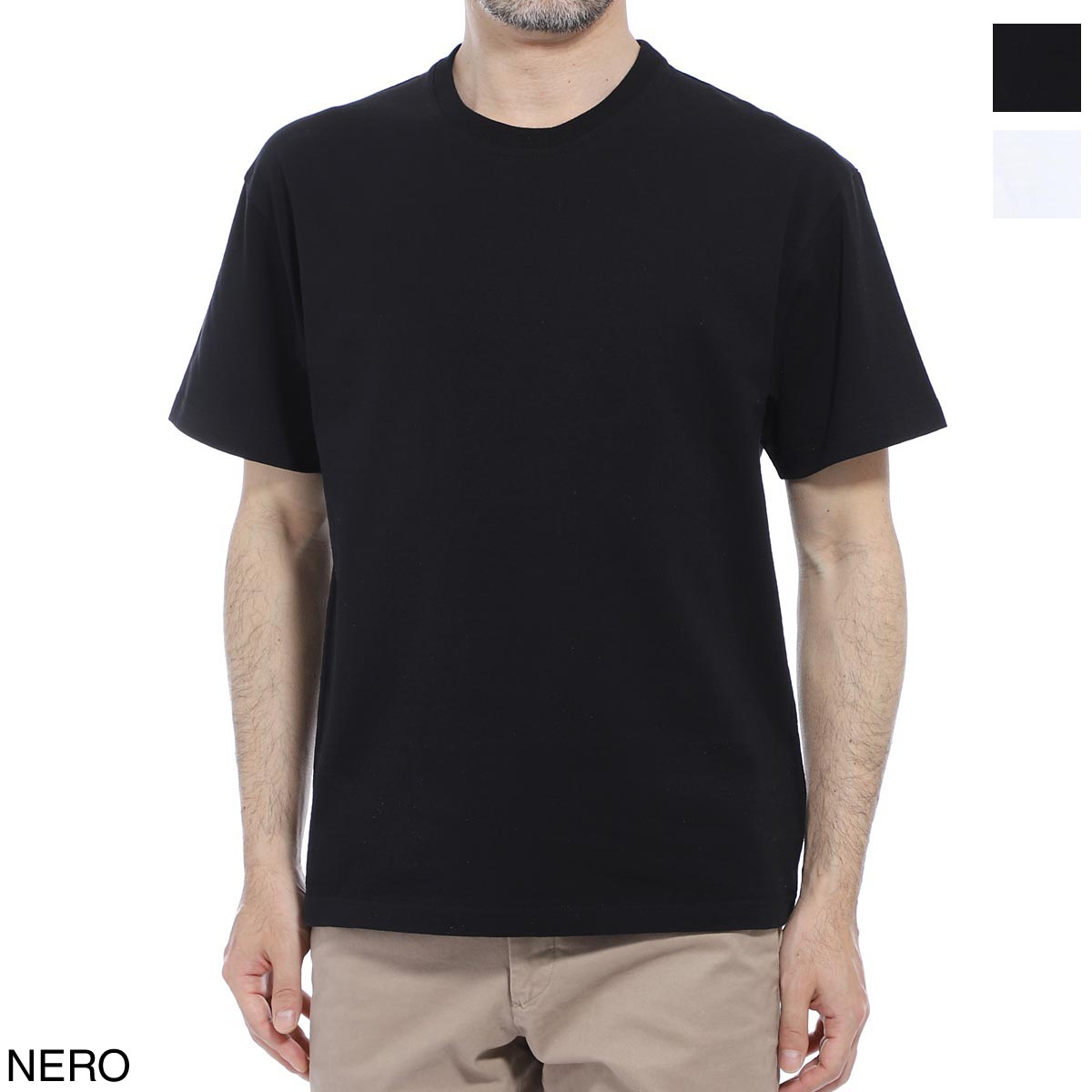 ボッテガヴェネタ BOTTEGA VENETA クルーネック 半袖Tシャツ メンズ 617933 vf1u0 1000 SUNRISE CREW-NECK COTTON T-SHIRT【あす楽対応_関東】【返品送料無料】【ラッピング無料】