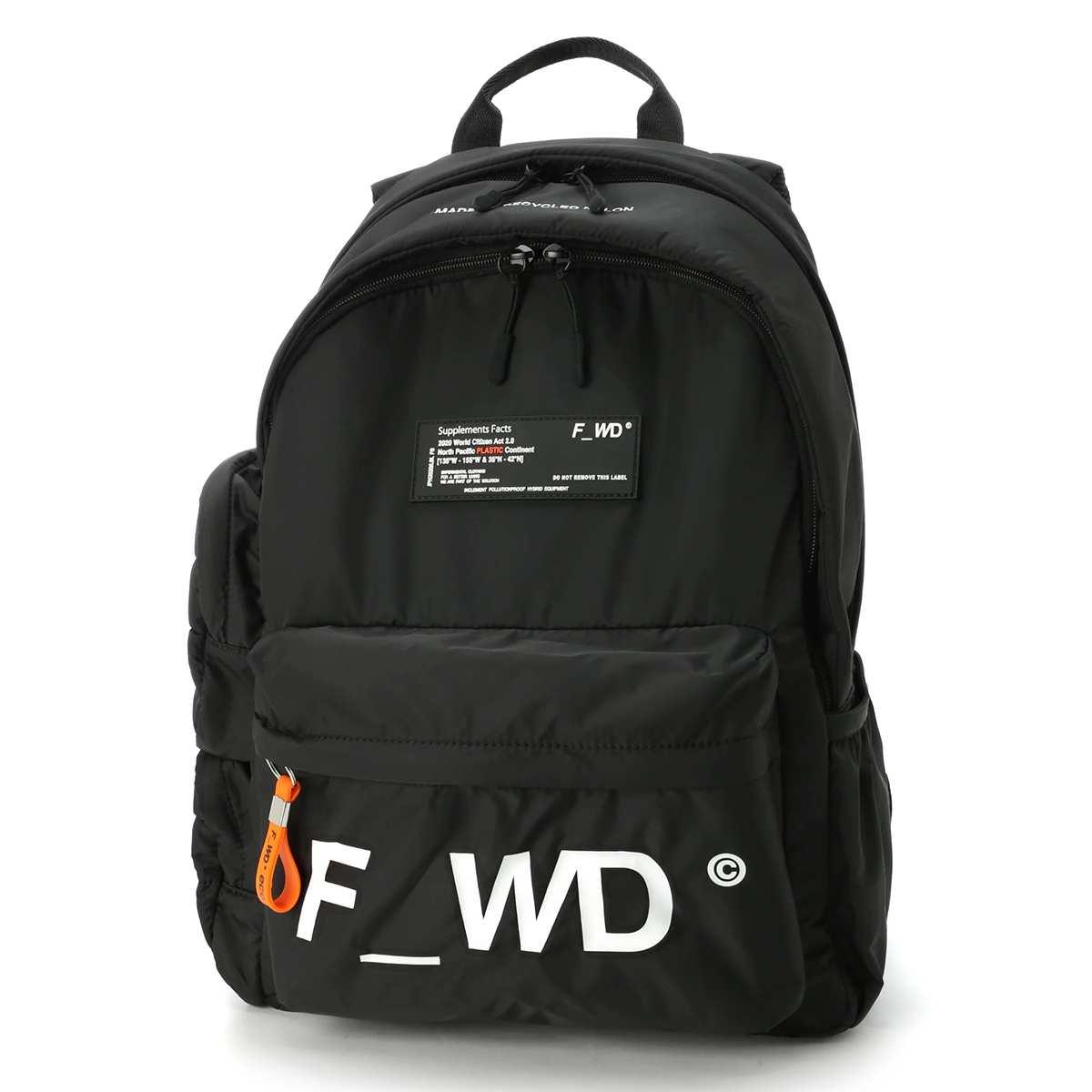 フォワード F_WD バックパック ブラック メンズ fwb34001 11201【あす楽対応_関東】【返品送料無料】【ラッピング無料】