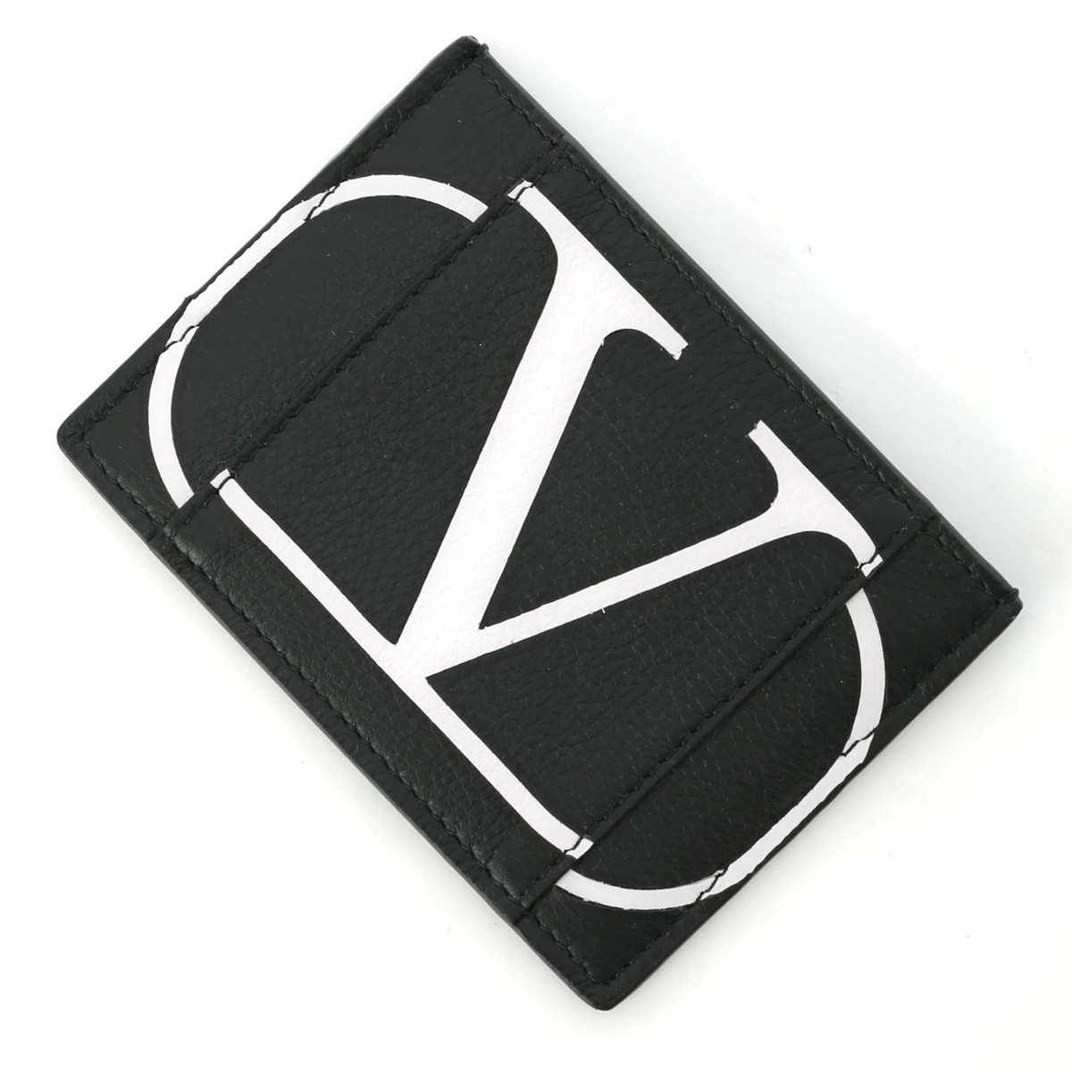 ヴァレンティノガラヴァーニ VALENTINO GARAVANI カードケース ブラック メンズ sy2p0655pcr ner【あす楽対応_関東】【返品送料無料】【ラッピング無料】