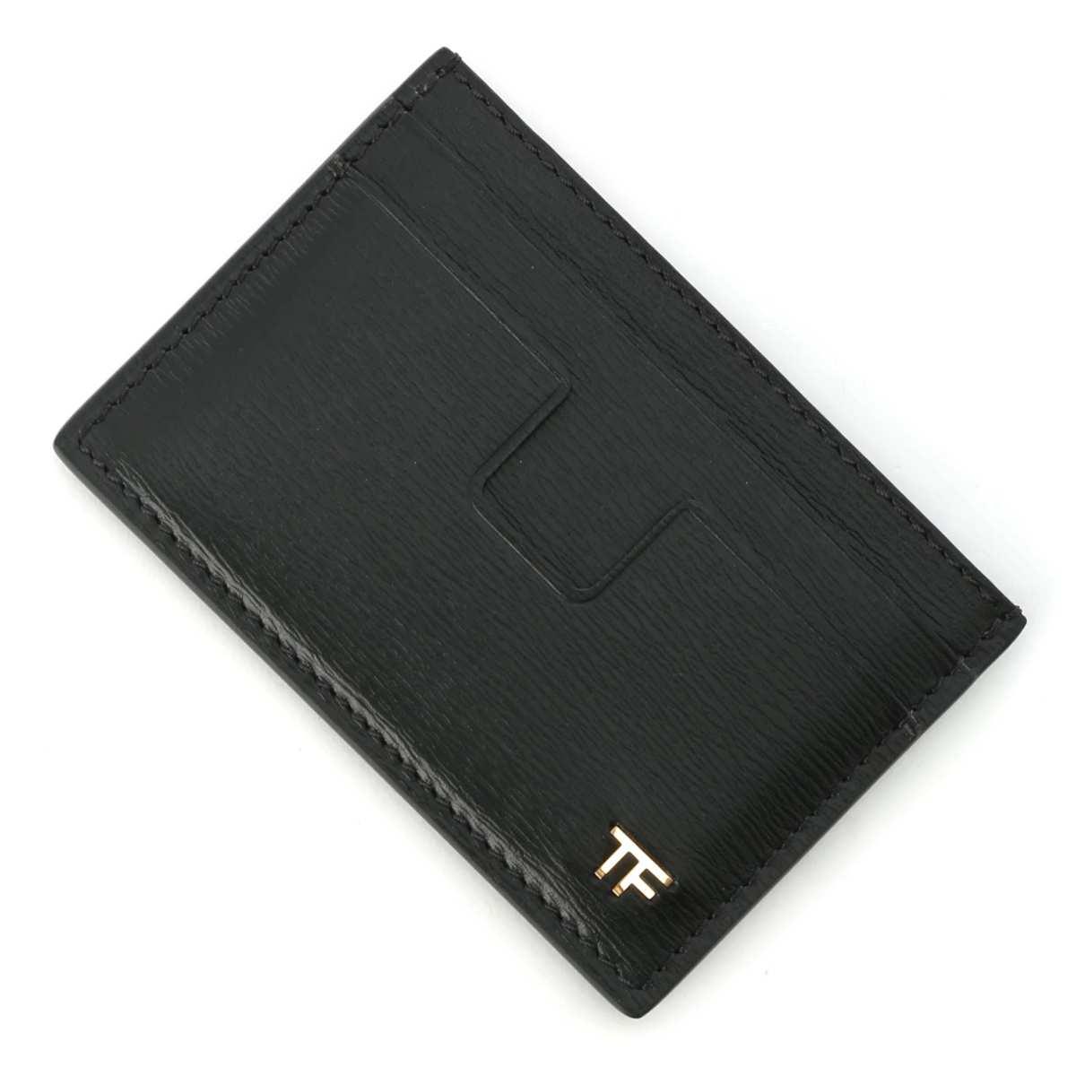 送料無料 トムフォード TOM FORD カードケース ブラック メンズ ラッピング無料 u9000 y0232t 返品送料無料 あす楽対応_関東 lcl053 激安格安割引情報満載 2020A W新作送料無料