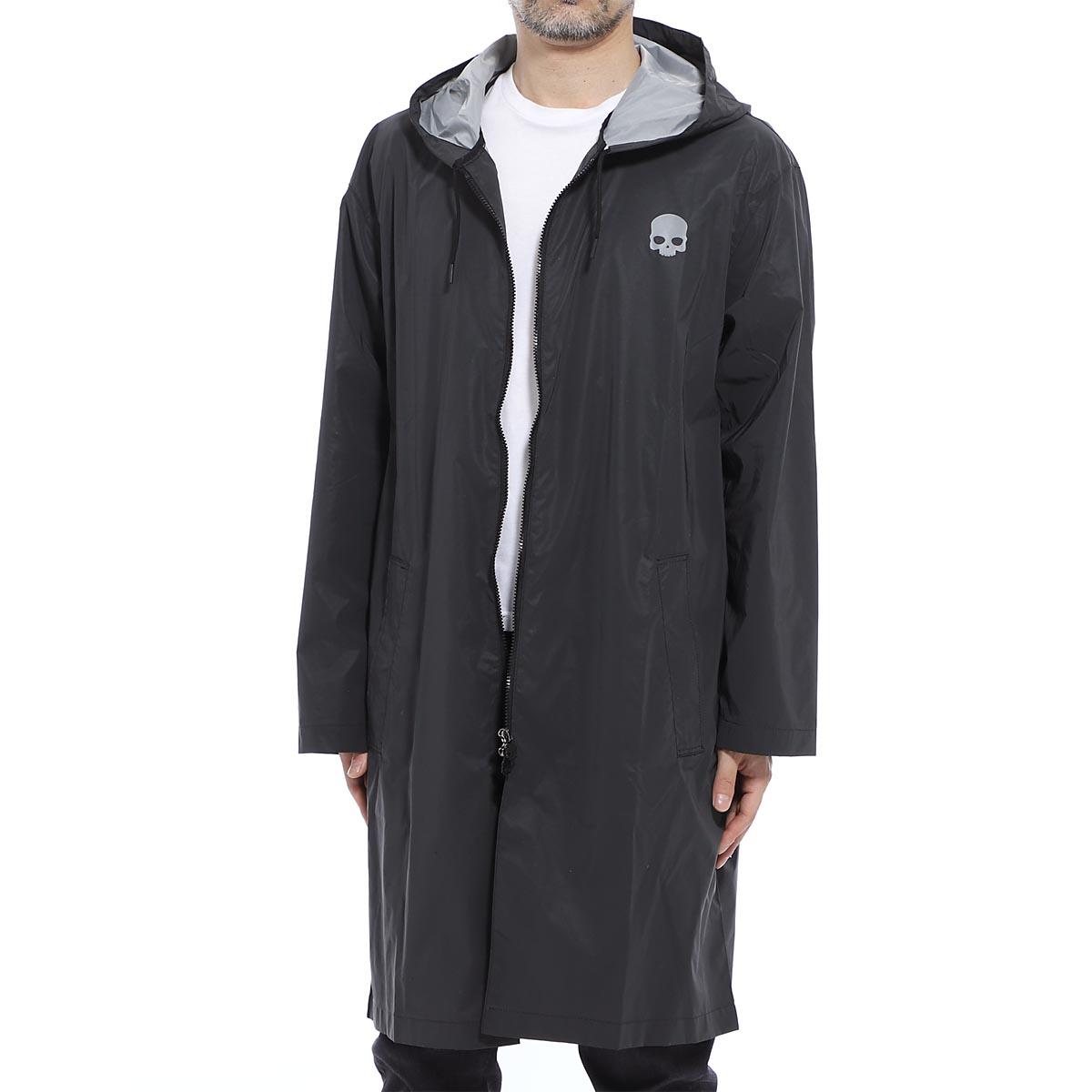 ハイドロゲン HYDROGEN レインコート ブラック メンズ 265706 007 H-LAB RAIN COAT【あす楽対応_関東】【返品送料無料】【ラッピング無料】