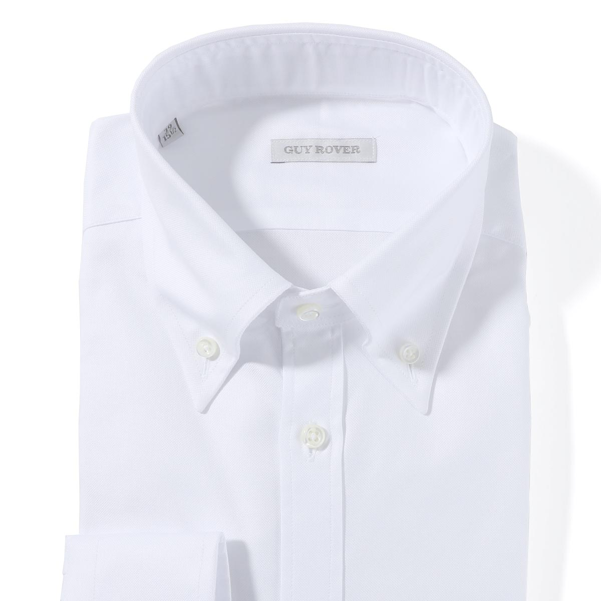 ギローバー GUY ROVER ボタンダウンシャツ ホワイト メンズ 2850v1940 501103 01【あす楽対応_関東】【返品送料無料】【ラッピング無料】