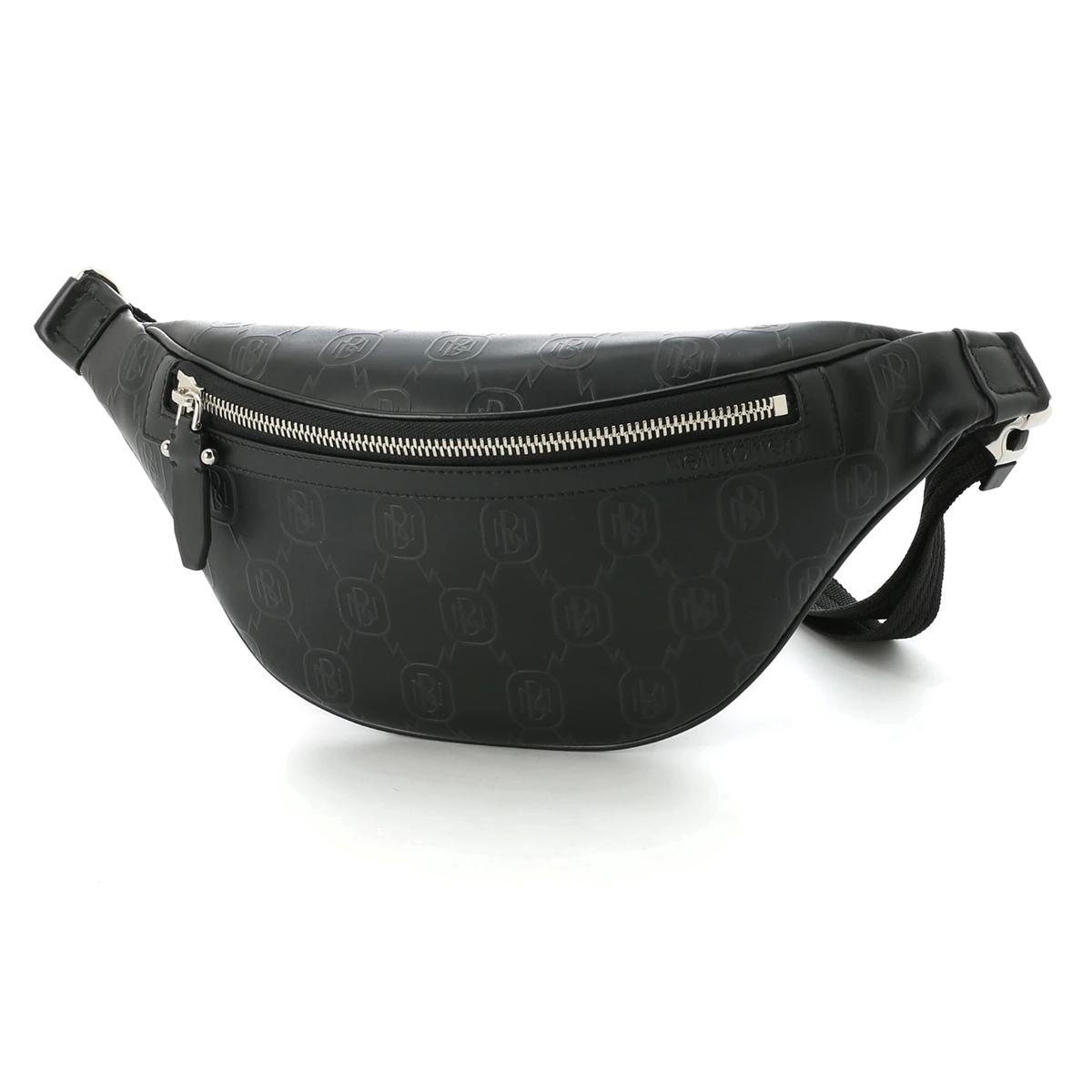 ニールバレット NeIL BarreTT クロスボディバッグ ブラック メンズ pbbo211l n9111 01 MONOGRAM LEATHER BELT BAG【あす楽対応_関東】【返品送料無料】【ラッピング無料】