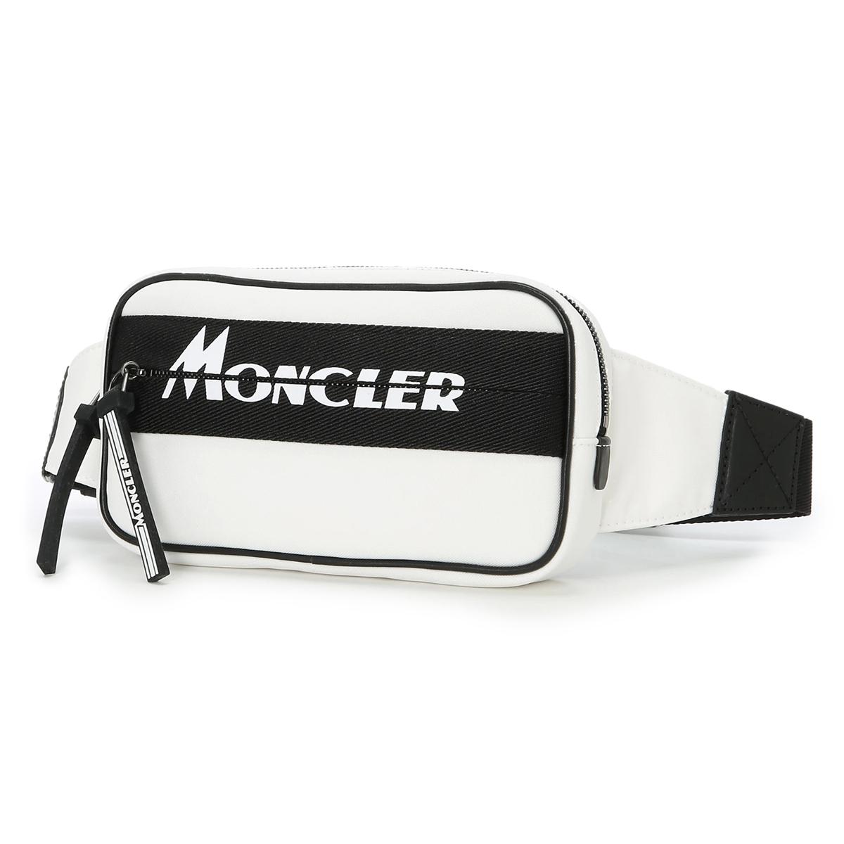 モンクレール MONCLER クロスボディバッグ ホワイト メンズ aude 5m70110 02say 034 AUDE BELT BAG【あす楽対応_関東】【返品送料無料】【ラッピング無料】