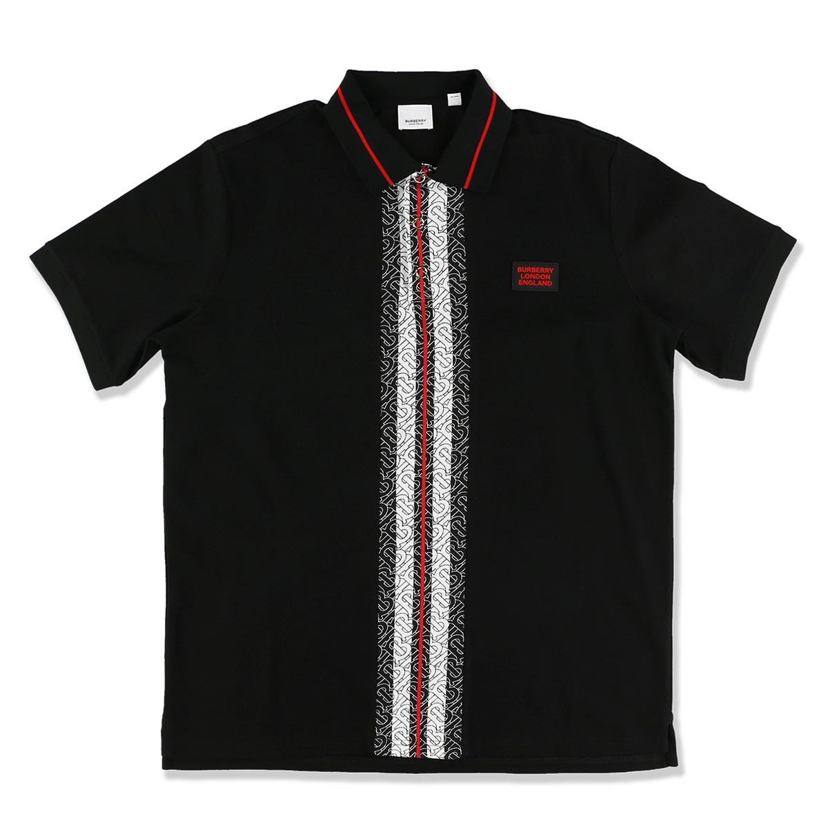 【アウトレット】【ラスト1点】バーバリー BURBERRY ポロシャツ ブラック メンズ 8027016 black JEYFORD【あす楽対応_関東】【返品送料無料】【ラッピング無料】