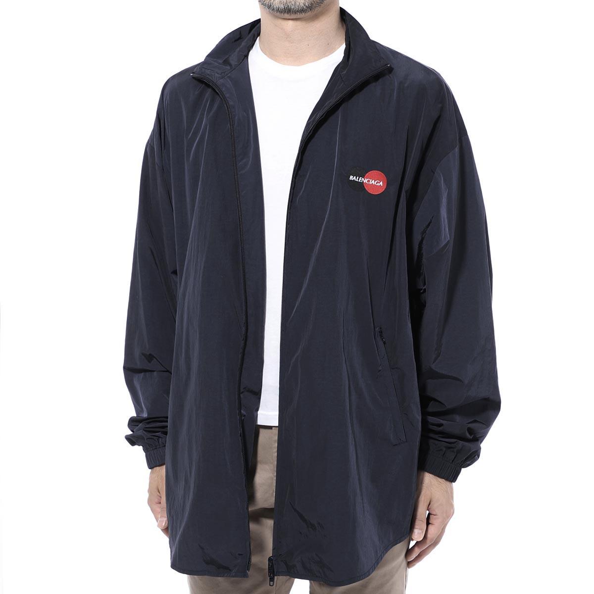 バレンシアガ BALENCIAGA ジップアップジャケット ブルー メンズ 622002 tio50 8065 Uniform Tracksuit ジャケット【あす楽対応_関東】【返品送料無料】【ラッピング無料】