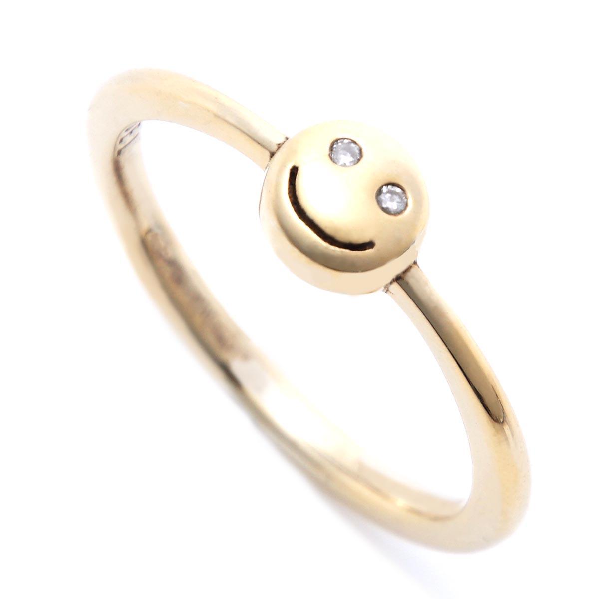 ガーデル GARDEL リング 指輪 ゴールド メンズ レディース gdr073 k18yg sm dm BAMBINA【あす楽対応_関東】【返品交換不可】【ラッピング無料】