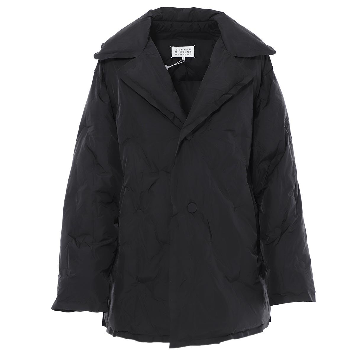 メゾンマルジェラ Maison Margiela 中綿入り ロングブルゾン ジャケット ブラック メンズ s50am0482 s49203 900【あす楽対応_関東】【返品送料無料】【ラッピング無料】