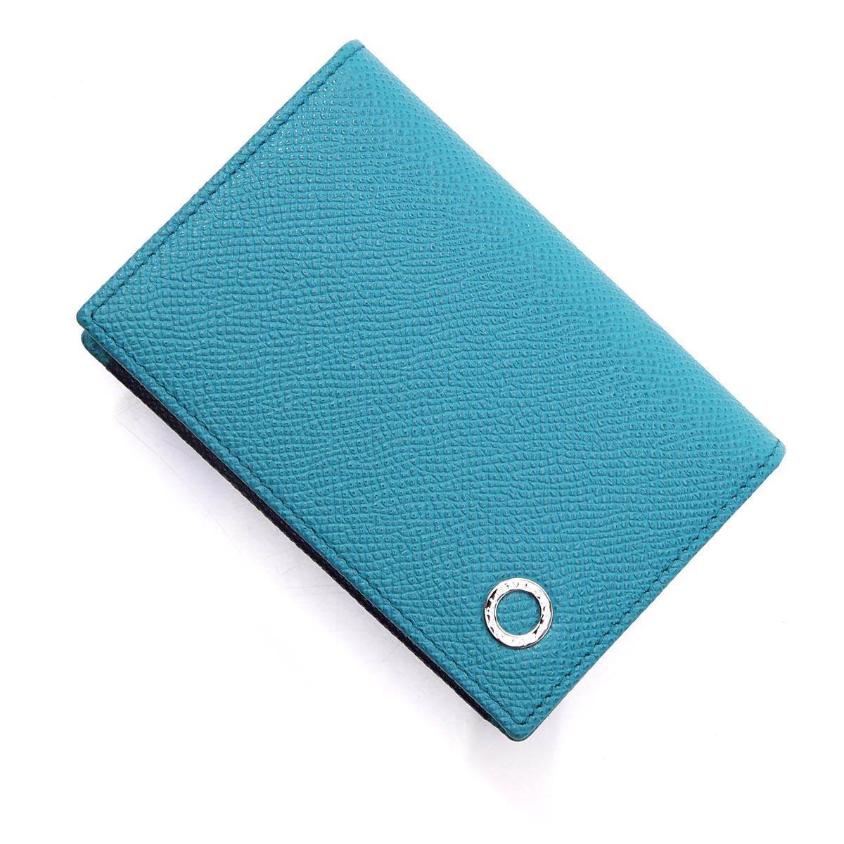 ブルガリ BVLGARI カードケース ブルー メンズ 290057 capritourquoise royalsapphire BVLGARI BVLGARI MAN【あす楽対応_関東】【返品送料無料】【ラッピング無料】