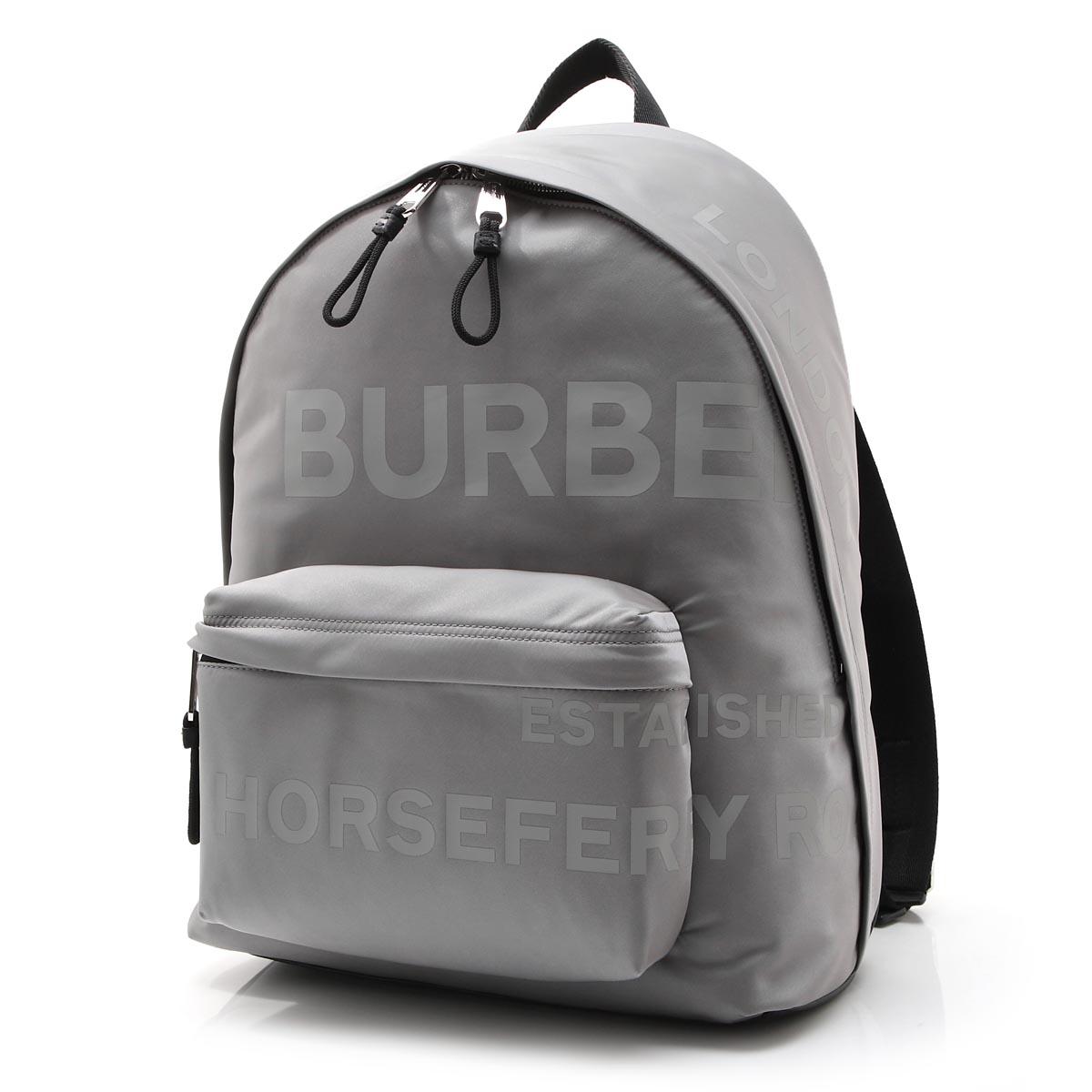 バーバリー BURBERRY リュック グレー メンズ 8028629 cloudgrey JETT BE9【あす楽対応_関東】【返品送料無料】【ラッピング無料】