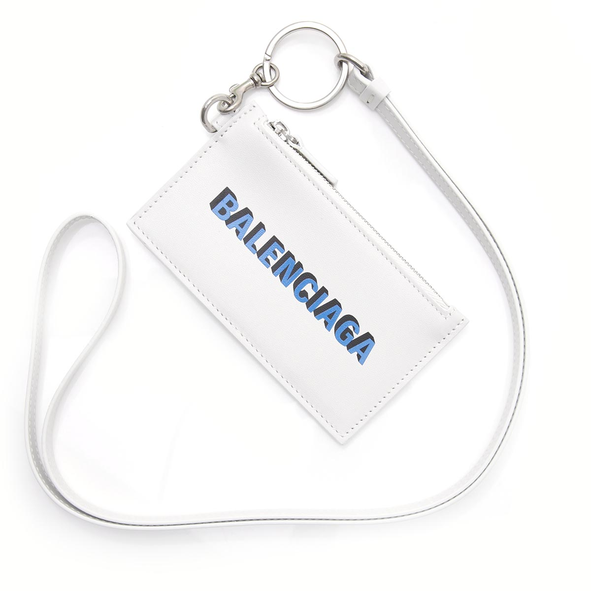 バレンシアガ BALENCIAGA カードケース ホワイト メンズ 594548 1i373 9064【あす楽対応_関東】【返品送料無料】【ラッピング無料】
