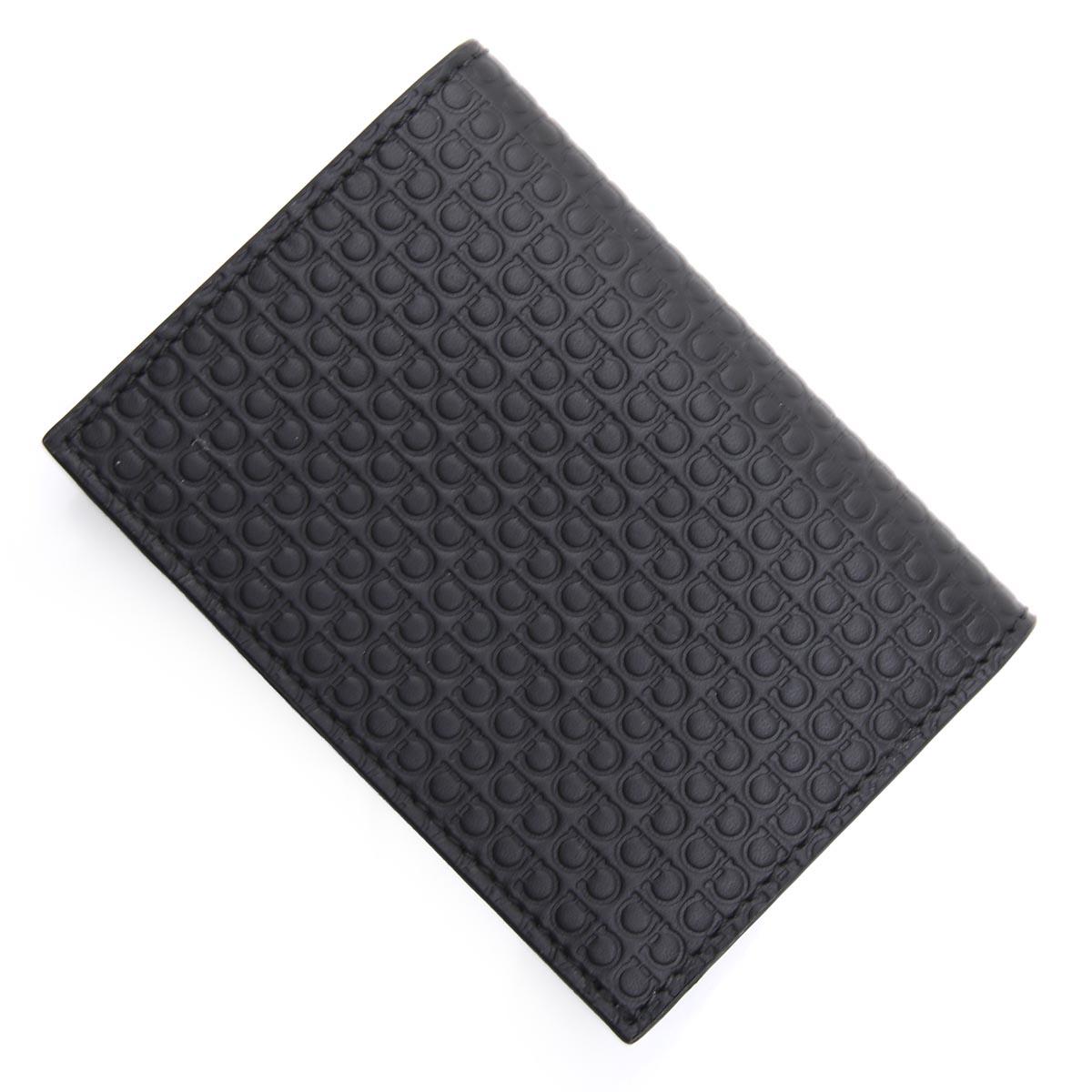 サルバトーレフェラガモ Salvatore Ferragamo カードケース ブラック メンズ 66a505 0714537 nero【あす楽対応_関東】【返品送料無料】【ラッピング無料】