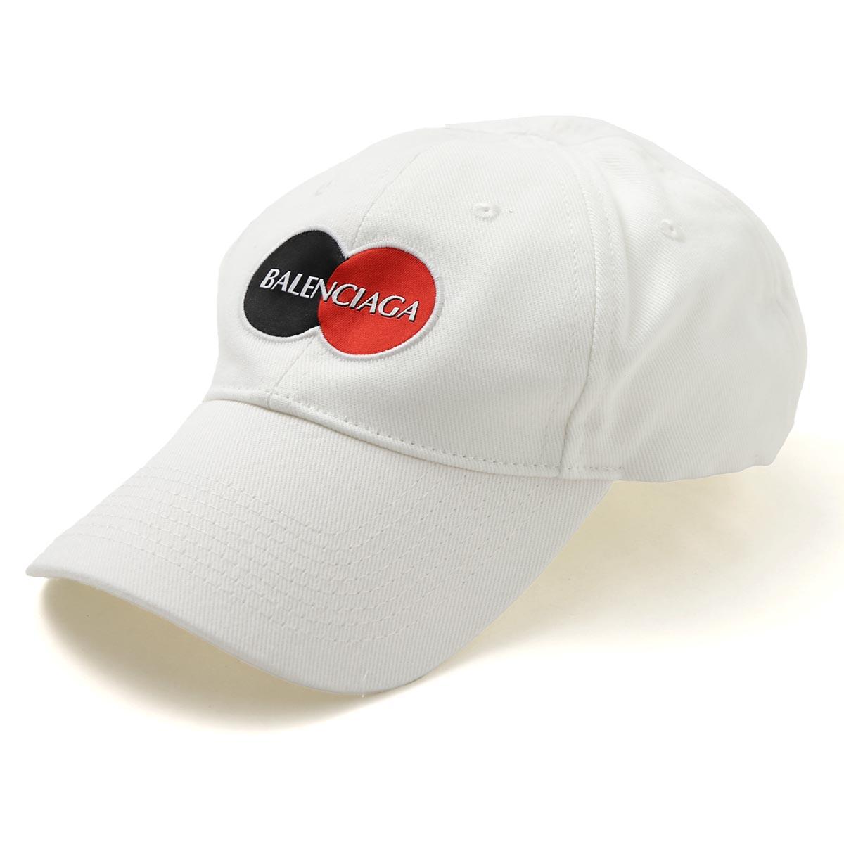バレンシアガ BALENCIAGA ベースボールキャップ ホワイト メンズ 617138 410b2 9000 UNIFORM CAP【あす楽対応_関東】【返品送料無料】【ラッピング無料】
