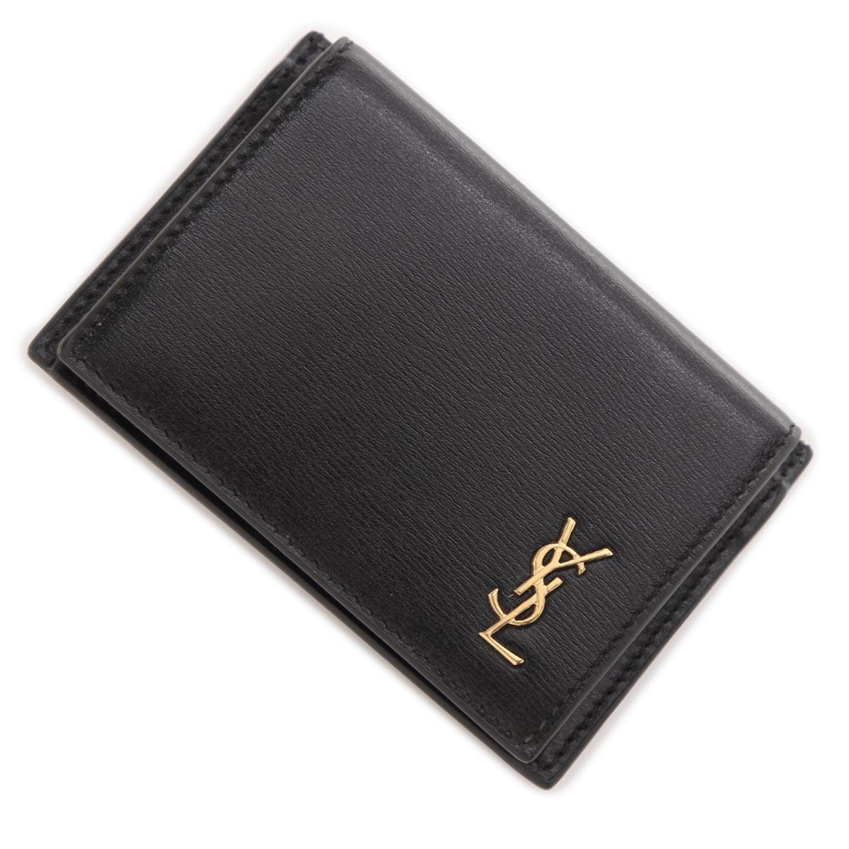 送料無料 サンローラン SAINT LAURENT カードケース TINY 市場 ブラック レディース 1000 02g0j 635264 ラッピング無料 返品送料無料 あす楽対応_関東 信託