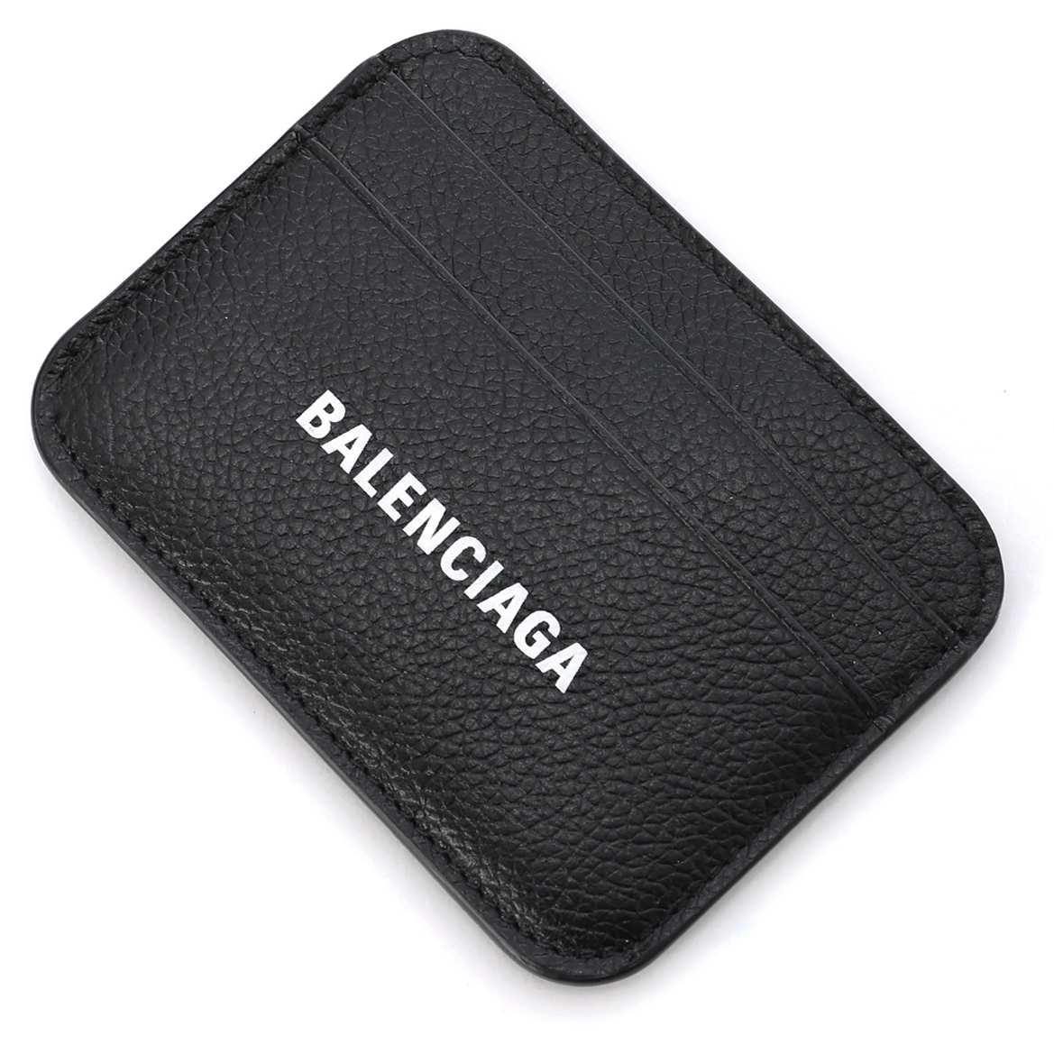 送料無料 発売モデル バレンシアガ BALENCIAGA カードケース 2021年春夏新作 ブラック レディース 超特価SALE開催 1izim 返品送料無料 ラッピング無料 1090 593812 あす楽対応_関東