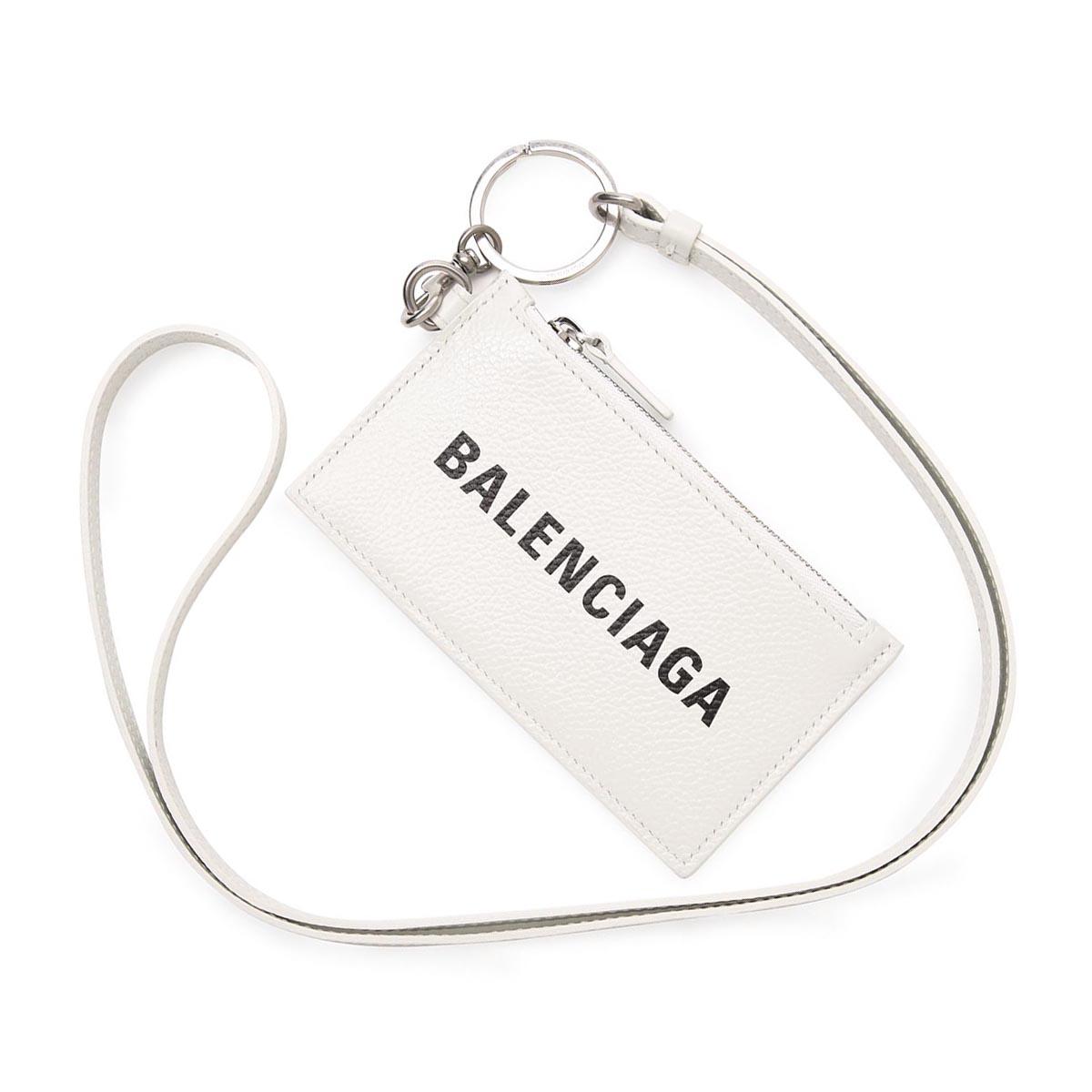 送料無料 バレンシアガ BALENCIAGA カードケース コインケース CASH 2021年秋冬新作 ホワイト 2021AW 9060 [ギフト/プレゼント/ご褒美] メンズ あす楽対応_関東 返品送料無料 ラッピング無料 激安特価品 1izi3 594548