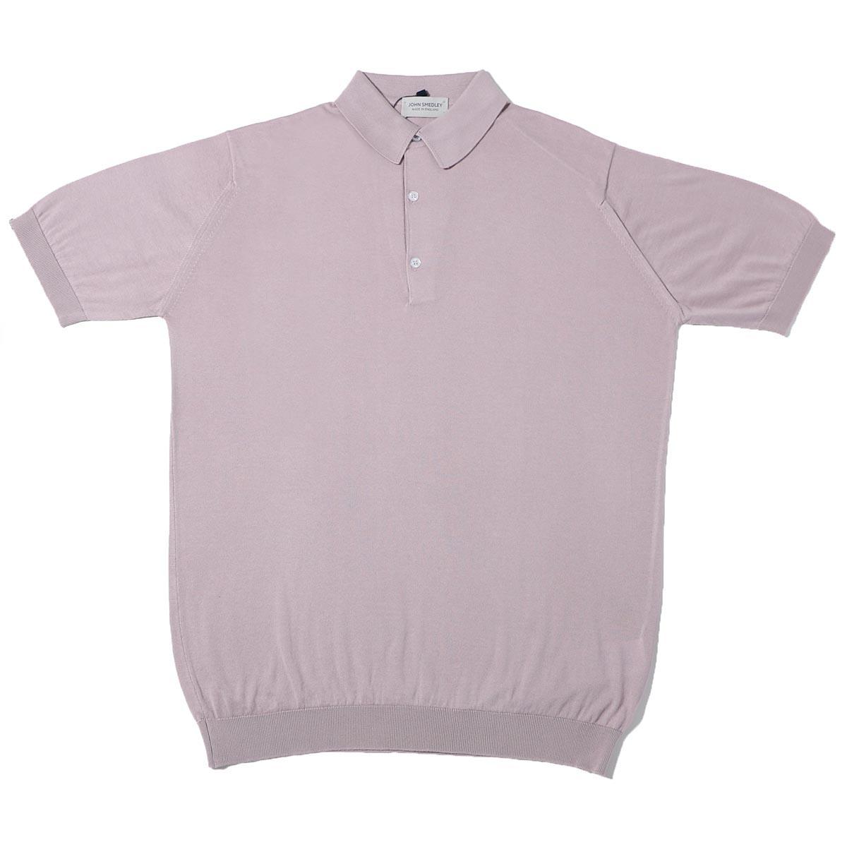 【訳あり】【Bランク】【アウトレット】ジョンスメドレー JOHN SMEDLEY ポロシャツ ピンク メンズ adrian pinkdawn ADRIAN エイドリアン 30ゲージ【あす楽対応_関東】【返品交換不可】