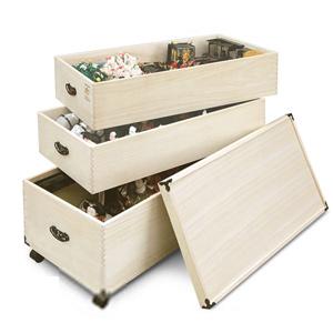 ひな人形収納庫 [雛人形の収納箱 総桐ひな人形収納庫 深型 3段 TS-3DL]【送料無料】