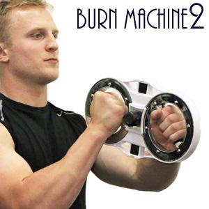 【即納】【バーンマシン2 Burn Machine2】 ◆送料無料・代引料無料◆  ニューバーンマシン登場! 筋トレマシン トレーニングマシン バーンマシーン2