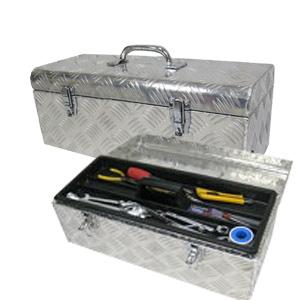 \ページ限定・マジッククロス付/ 【送料無料】アルミケース工具箱 工具入れ【アルミ工具BOX ATB1-522】の通販