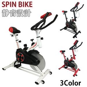 スピンバイク YS-S02 ◆送料無料◆[トレーニングバイク フィットネスバイク エクササイズバイク 静音設計 サイクルマシン サイクルマシーン サイクリング]