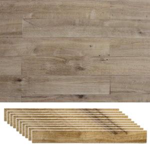 木製 壁面パネル 壁材 【送料無料】 【SOLIDECO 壁に貼れる天然木パネル 40枚組 SLDCPR-40P プレミアムシリーズ】 [自分で壁を模様替えできるシールタイプのウォールパネル 壁材 壁紙]