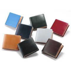 【即納】ブリティッシュグリーン 二つ折り財布 62789 ブライドルレザー 【送料無料・正規品】 の通販