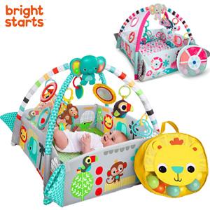 Bright Starts ブライトスターツ 5-in-1 ヨアウェイ ボール プレイジム の 通販 【送料無料・代引料無料】 [ベビー ボールプール プレイジム 柔らかい 赤ちゃん おもちゃ]