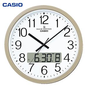 カシオ オフィス向け大型掛時計 IC-4100J-9JF の 通販 【送料無料・代引料無料】 [オフィス用 掛け時計 カシオ掛け時計 大型 アナログ掛け時計 上品 みやすい掛け時計]