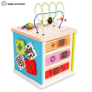 イノベーション ステーション 11656 の 通販 【送料無料・代引料無料】 [知育玩具 転がす 好奇心 幼児おもちゃ 出産祝い 大きい キューブ型 おもちゃ 指先 パズル ボール]