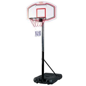 キャスター付きバスケットゴールスタンド【送料無料】【カイザー バスケットゴールスタンド KW-584】屋外 シュート練習 1on1 高さ調節可