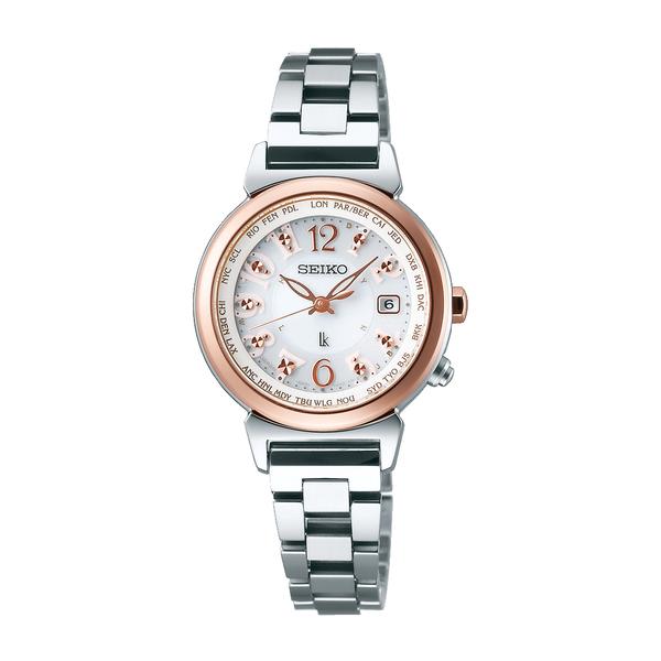 【7年保証】 セイコー ルキア電波ソーラー レディース 女性用  腕時計 品番:SSVV002